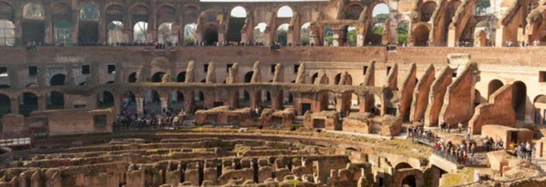 Tour della Roma Antica con ingresso salta fila al Colosseo, Foro Romano e Palatino
