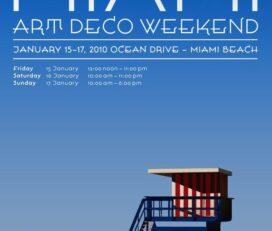 Miami Design Preservation League Art Deco Week-end