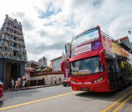 Tour in autobus hop-on hop-off di Singapore